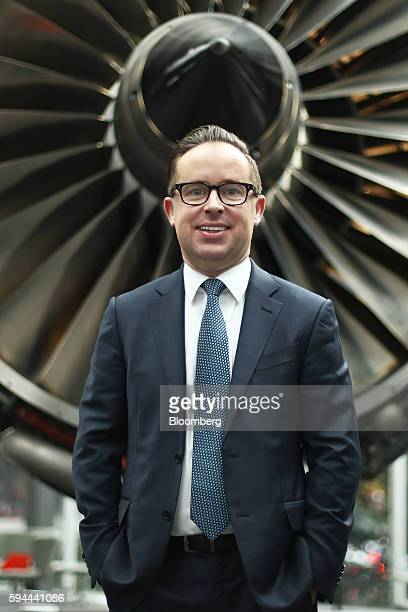 Alan Joyce chief executive officer of Qantas Airways Ltd stands for a photograph following a news conference in Sydney Australia on Wednesday Aug 24...