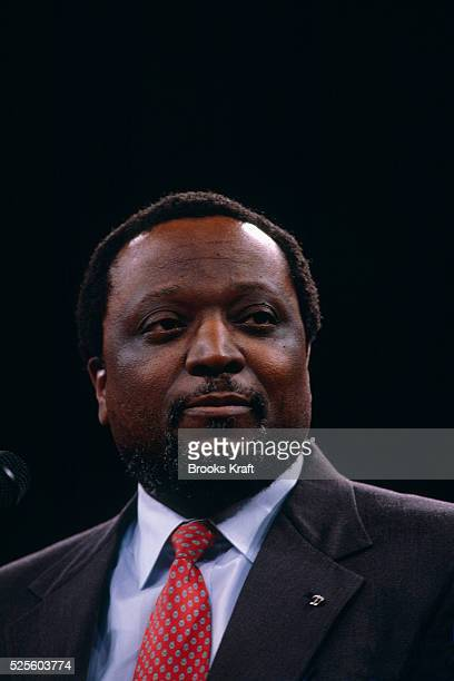 Alan Keyes Attends a Christian Coalition Rally
