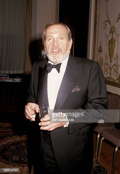 Alan King during International Radio and Television Society Tribute to Louis P Weiss at Waldorf Astoria in New York City New York United States