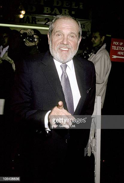 Alan King during Premiere of 'Casino' at Coronet Theater in New York City New York United States