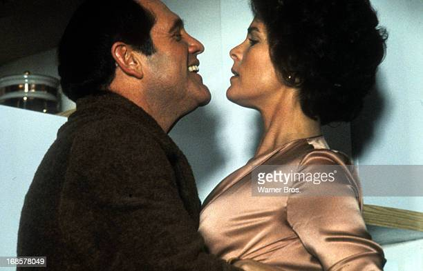 Alan King grabs Ali MacGraw in a scene from the film 'Just Tell Me What You Want' 1980
