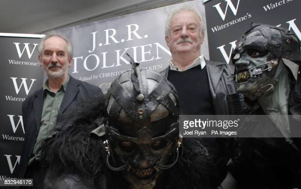 Alan Lee illustrator of the Children of Hurin a book by JRR Tolkien and Bernard Hill who played King Theoden in Tolkien's The Lord of the Rings with...