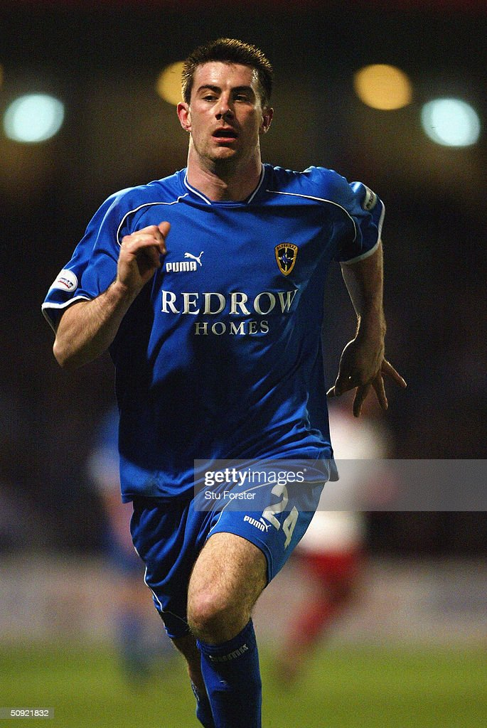 Alan Lee of Cardiff City during the Nationwide Division One match between Cardiff City and Sheffield United at Ninian Park on March 27 2004 in...
