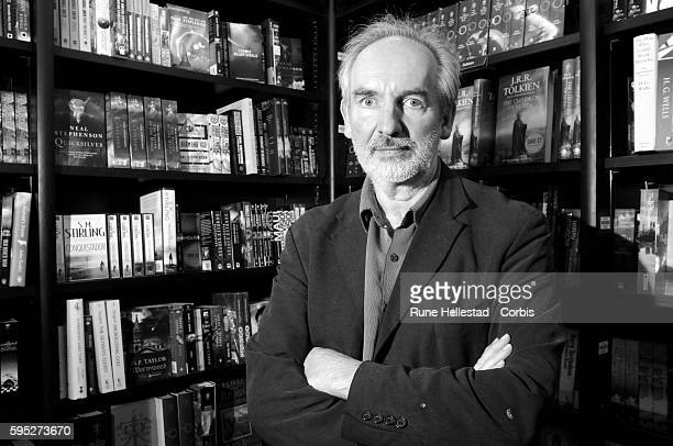 Alan Lee the launch of JRR Tolkien's book 'The Children Of Hurin' at Waterstone's Piccadilly in central London