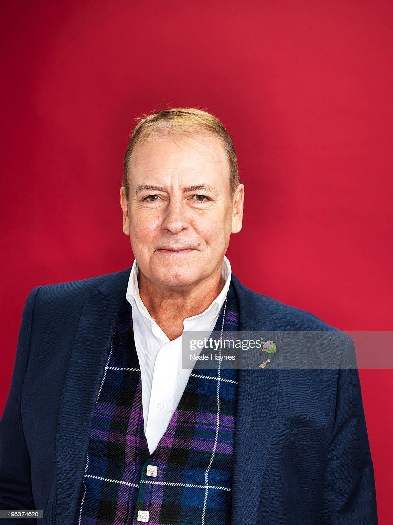Alan Longmuir of pop band the Bay City Rollers are photographed for the for Daily Mail on September 24, 2015 in London, England.