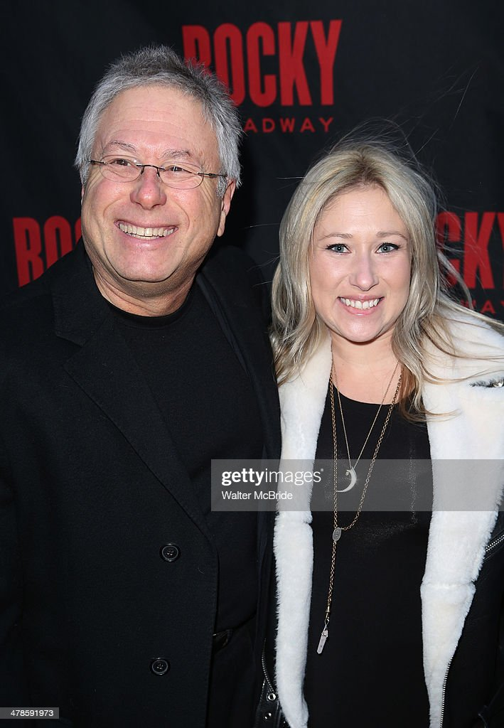 Alan Menken and daughter Anna Rose attend the 'Rocky' Broadway Opening Night at Winter Garden Theatre on March 13, 2014 in New York City.