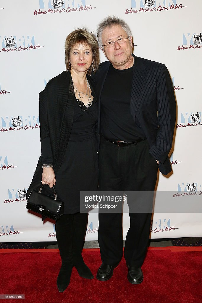 Alan Menken (R) and wife Janis Menken attend the 22nd annual Oscar Hammerstein Award gala at The Hudson Theatre on December 9, 2013 in New York City.