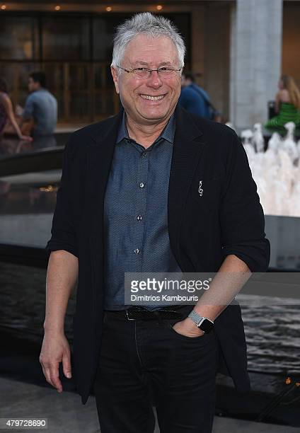 Alan Menken attends 'Danny Elfman's Music from the Films of Tim Burton' Opening Night at Josie Robertson Plaza at Lincoln Center on July 6 2015 in...