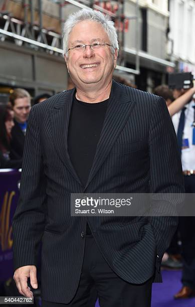 Alan Menken attends the Red Carpet arrivals for Disney's New Musical Aladdin at Prince Edward Theatre on June 15 2016 in London England