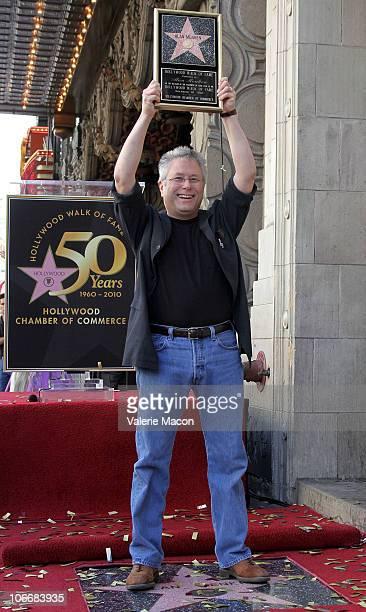 Alan Menken attends the Walk of Fame star ceremony for Alan Menken on November 10 2010 in Hollywood California