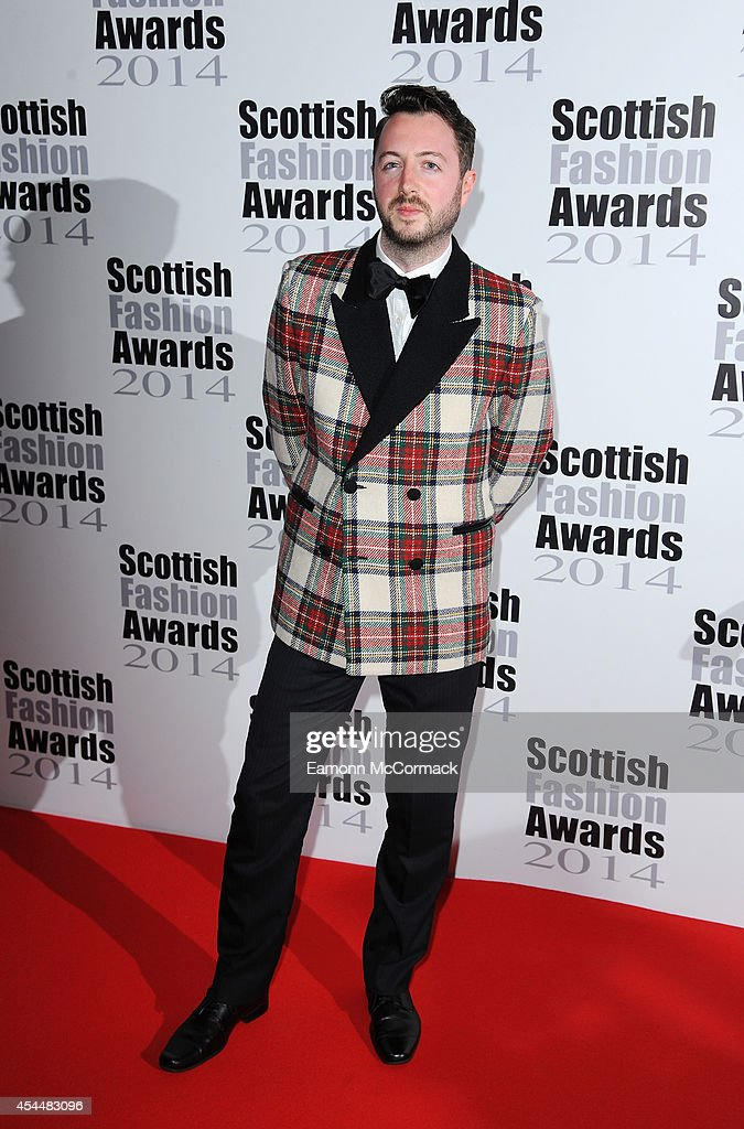 Alan Moore attends The Scottish Fashion Awards on September 1, 2014 in London, England.