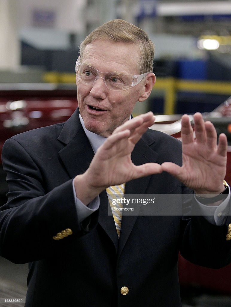 Interview with ford ceo alan mulally for Ford motor company alan mulally