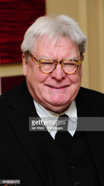 Alan Parker arrives at the BAFTA afterparty held at the Grosvenor Hotel in London