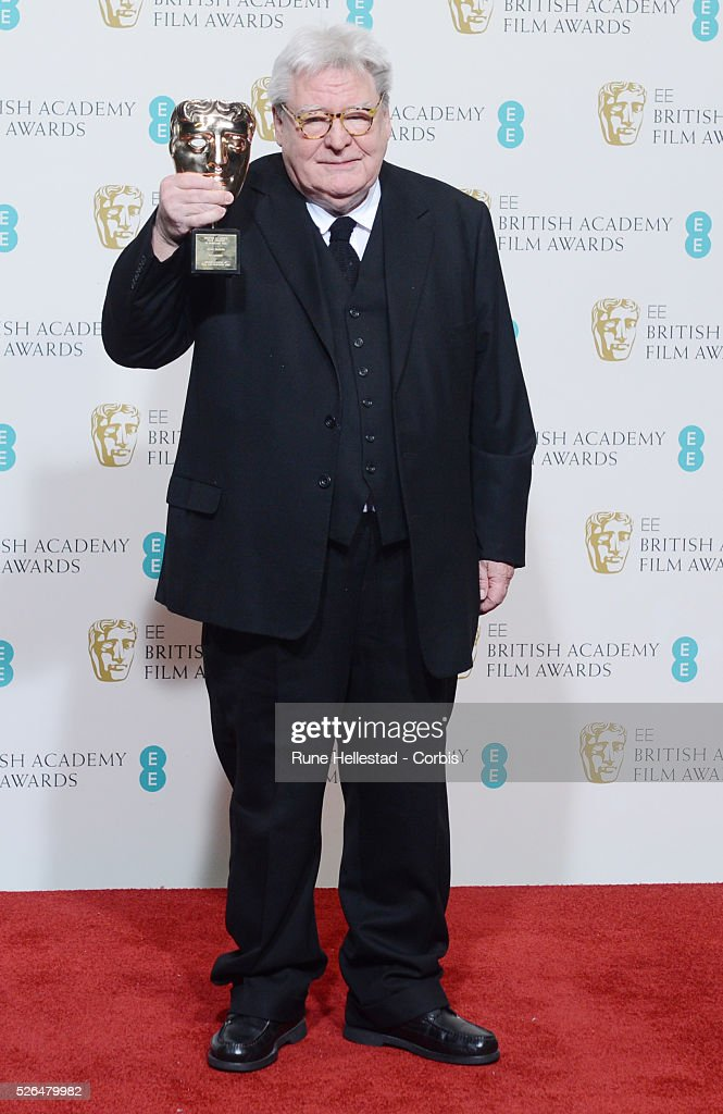 Alan Parker attends the EE British Academy Film Awards at the Royal Opera House