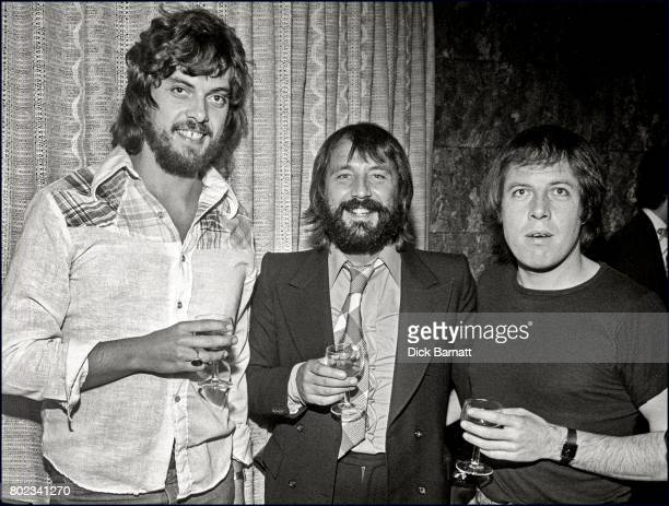 Alan Parsons at a party in London 1976