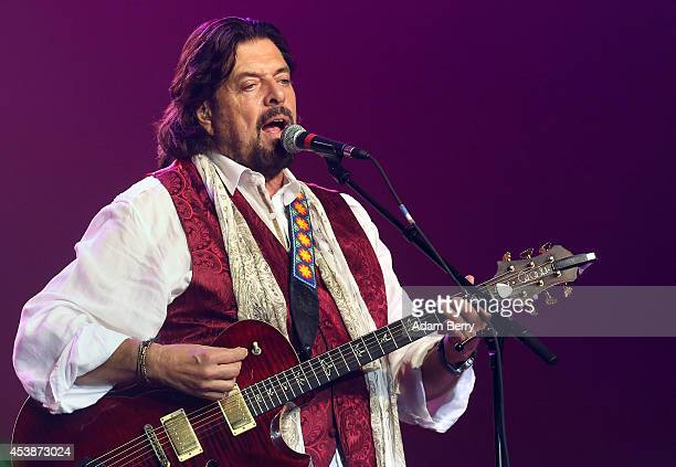 Alan Parsons of the Alan Parsons Live Project performs during a concert at Admiralspalast on August 20 2014 in Berlin Germany