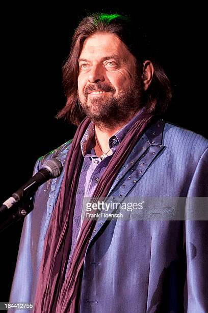 Alan Parsons of The Alan Parsons Live Project performs live during a concert at the Admiralspalast on March 23 2013 in Berlin Germany
