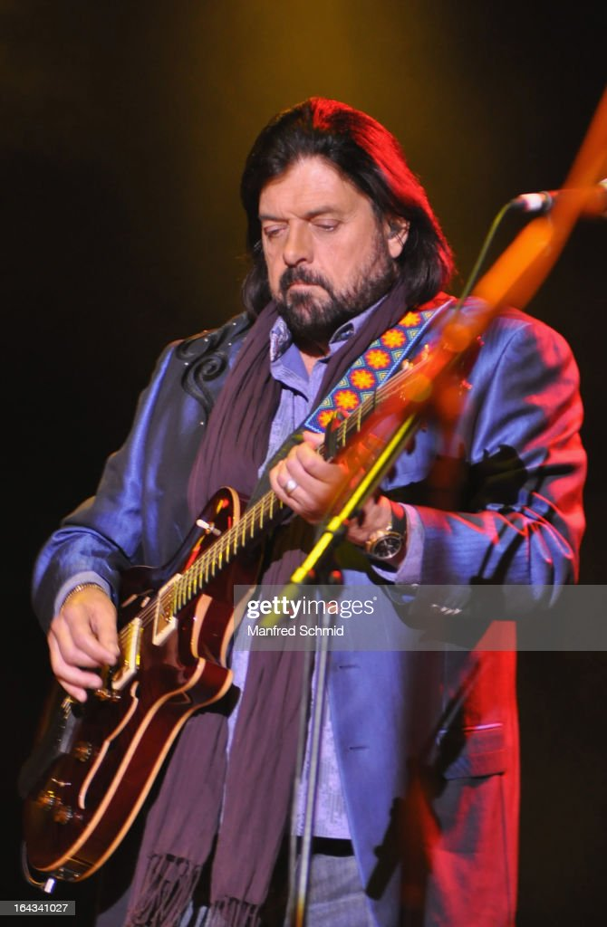 Alan Parsons of The Alan Parsons Live Project performs on stage during the Greatest Hits Tour 2013 at the Gasometer Wien Music Hall on March 22, 2013 in Vienna, Austria.