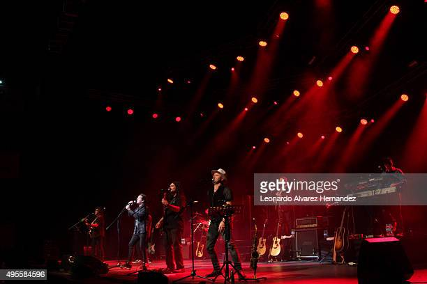 Alan Parsons performs during his show Alan Parsons Live Project as part of Greatest Hits Tour on November 03 2015 in Guadalajara Mexico