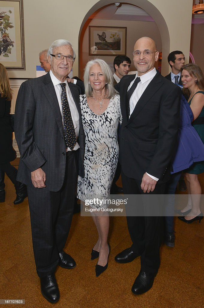 Alan Patricof, Susan Patrciof and Ivan Hageman attend the The East Harlem School 2013 Fall Benefit Honoring Susan And Alan Patricof on November 11, 2013 in New York City.
