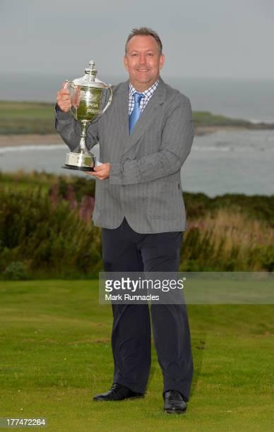 Alan Reid of West Lothian Golf Club winner of the Golfplan Challenge Regional Qualifier at Craighead Links Golf Club on August 23 2013 in Crail...