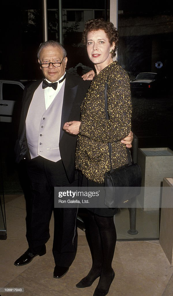 Alan Rich and <a gi-track='captionPersonalityLinkClicked' href=/galleries/search?phrase=Sylvia+Kristel&family=editorial&specificpeople=1671851 ng-click='$event.stopPropagation()'>Sylvia Kristel</a> during Benefit to Honor Menachem Golan at Beverly Hilton Hotel in Beverly Hills, California, United States.