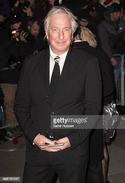 Alan Rickman attends The Portrait Gala 2014 Collecting to Inspire at the National Portrait Gallery on February 11 2014 in London England