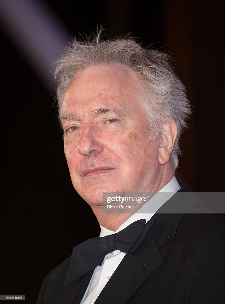 Alan Rickman attends the Tribute to Jeremy Irons as part of the 14th Marrakech International Film Festival December 6, 2014 in Marrakech, Morocco.