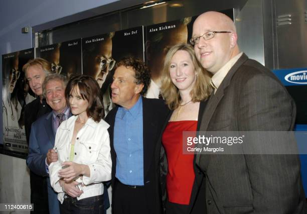 Alan Rickman Joseph Sargent director Mary Stuart Masterson Robert Cort executive producer Keri Putnam senior vice president HBO Films and Eric...