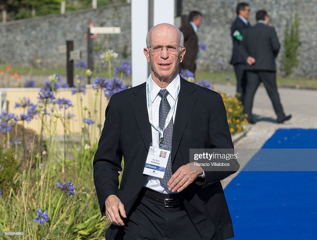 Alan S. Blinder from Princeton University, arrives to participate as speaker in the ECB Forum on Central Banking on June 27, 2016 in Sintra, Portugal. The third annual European Central Bank Forum on Central Banking focuses on 'The future of the international monetary and financial architecture', a key topic of debate among economists and policymakers. Some 150 central bank governors, academics, financial journalists and high-level financial market representatives will discuss current policy issues and the chosen topic from a longer-term perspective.