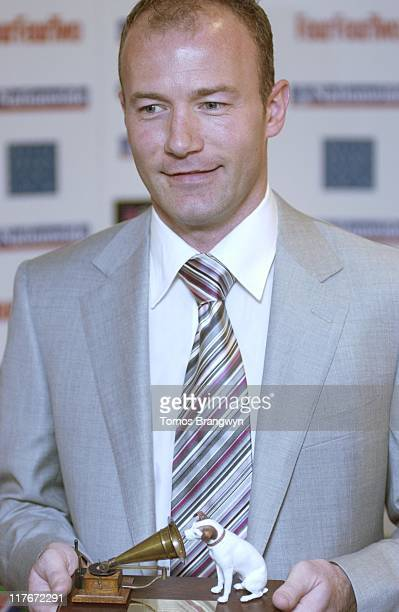 Alan Shearer during HMV Lifetime Achievement Awards 2006 at Grosvenor House in London Great Britain