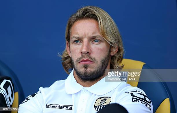 Alan Smith of Notts County during the Sky Bet League Two match between Oxford United and Notts County at Kassam Stadium on August 18 2015 in Oxford...