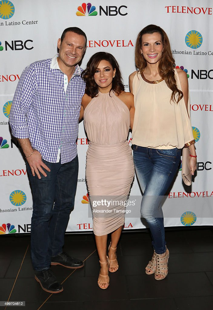 'Telenovela' Miami Screening Event With Eva Longoria, Jencarlos Canela, And Amaury Nolasco, Hosted By The Smithsonian