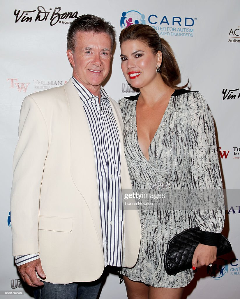 <a gi-track='captionPersonalityLinkClicked' href=/galleries/search?phrase=Alan+Thicke&family=editorial&specificpeople=240157 ng-click='$event.stopPropagation()'>Alan Thicke</a> and <a gi-track='captionPersonalityLinkClicked' href=/galleries/search?phrase=Tanya+Callau&family=editorial&specificpeople=235953 ng-click='$event.stopPropagation()'>Tanya Callau</a> attend the 8th annual Denim & Diamonds for Autism at Fours Season Hotel on October 6, 2013 in Westlake Village, California.