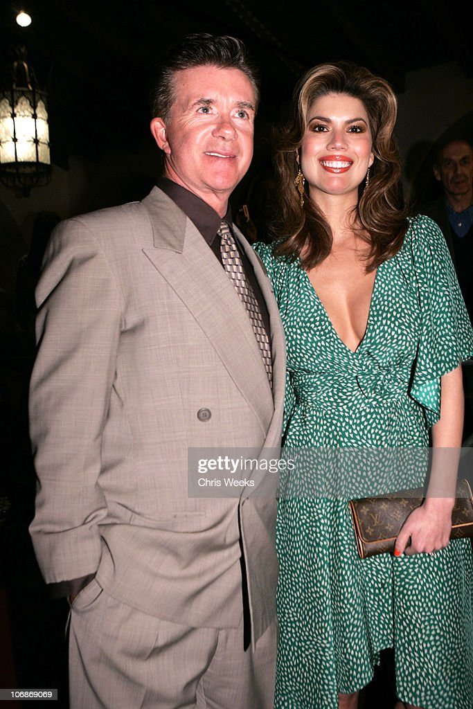 Alan Thicke and wife during 21st Annual Santa Barbara International Film Festival Opening Night 'Ask The Dust' at Arlington Theater in Santa Barbara...