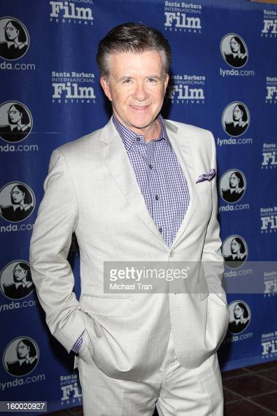 Alan Thicke arrives at the 28th Annual Santa Barbara International Film Festival 'Disconnect' opening night premiere and gala held at Arlington...