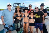 Alan Thicke Garcelle Beauvais Gretchen Rossi Steven Bauer Marissa Jaret Winokur Kevin Rahm and Slade Smiley attend the Island Routes Caribbean...