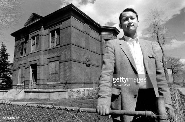 Alan Tucker in front of a piece of property he was formerly Developing as an apartment building The property in the 3800 block of Gilpin street along...