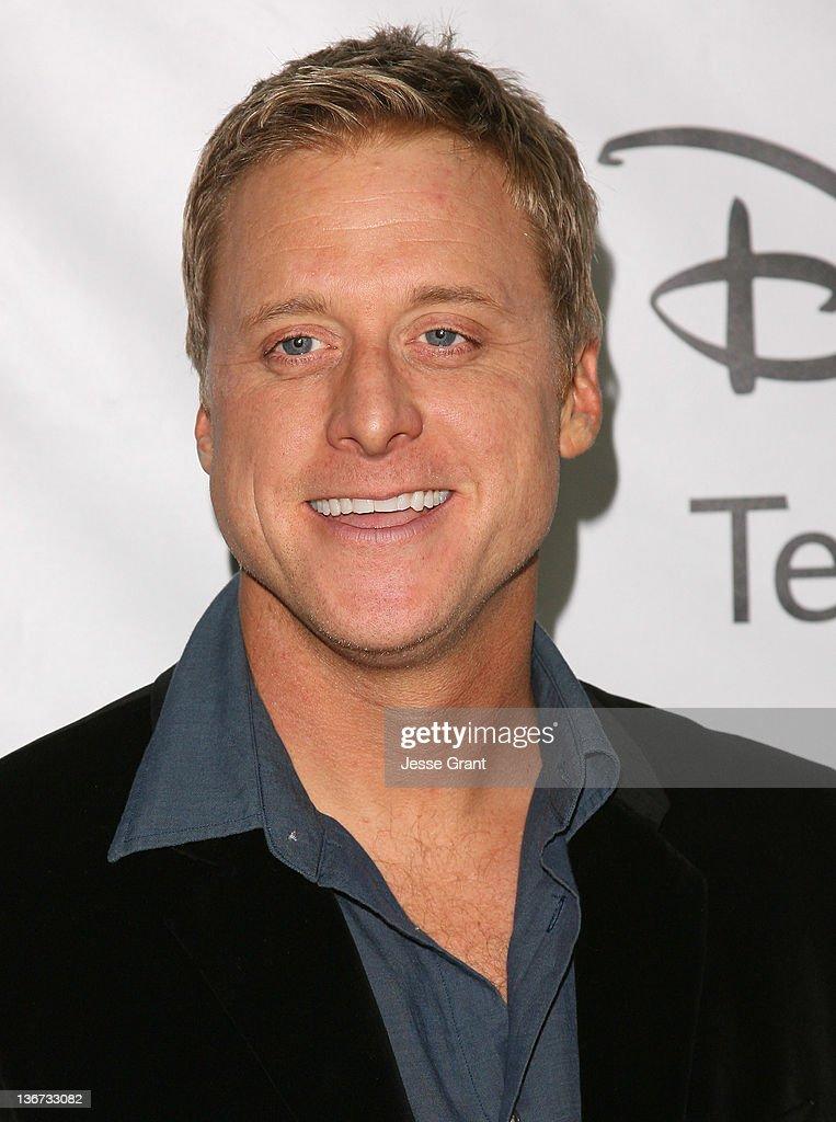 Alan Tudyk arrives to Disney ABC Television Group's 'TCA Winter Press Tour' at the Langham Huntington Hotel on January 10, 2012 in Pasadena, California.