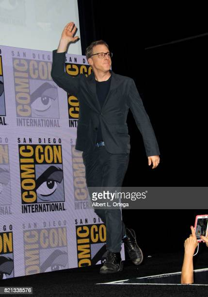 Alan Tudyk at Dirk Gently's Holistic Detective Agency BBC America Official Panel during ComicCon International 2017 at San Diego Convention Center on...