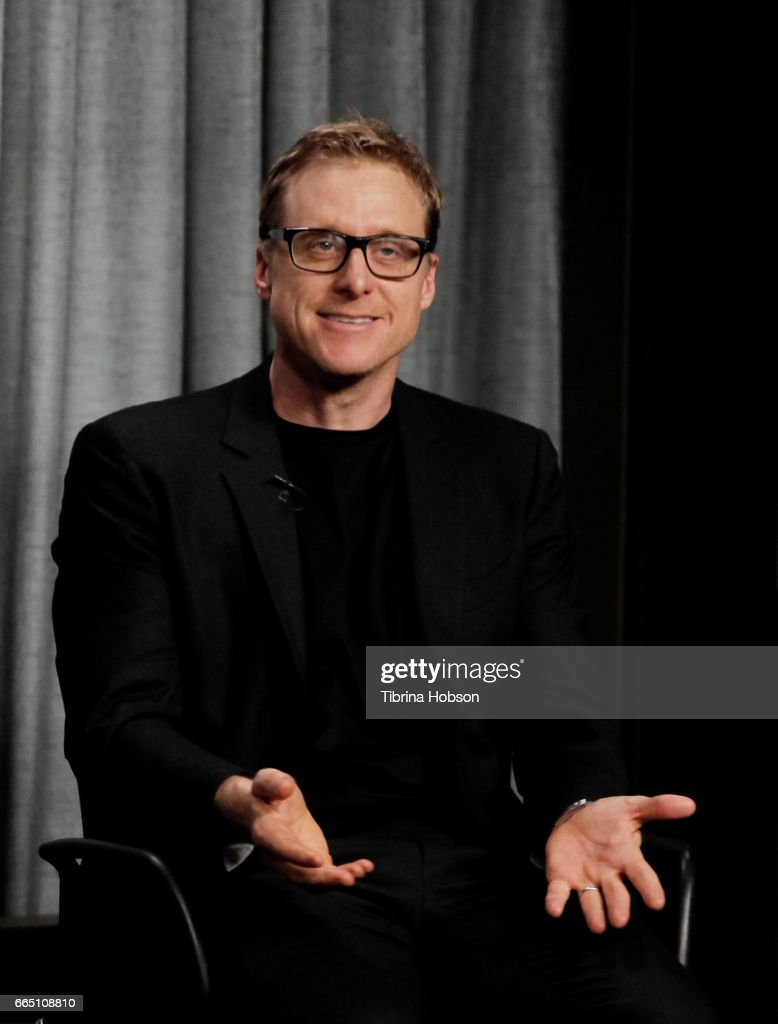 Alan Tudyk attends the AG-AFTRA Foundation's Conversations with Alan Tudyk at SAG-AFTRA Foundation Screening Room on April 5, 2017 in Los Angeles, California.