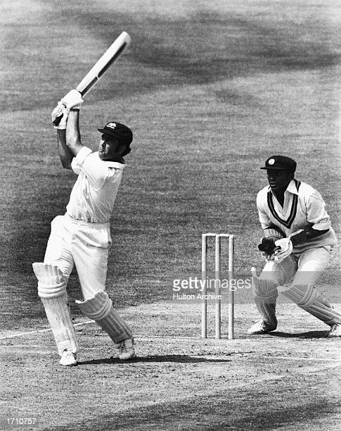 Alan Turner of Australia in action during the Prudential World Cup between Australia and Sri Lanka at the Kennington Oval London Great Britain on the...