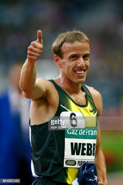 Alan WEBB 1500M Meeting Gaz de France Paris SaintDenis au stade de France