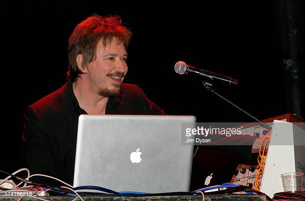 Alan Wilder of Recoil formerly of Depeche Mode performs live on stage during the first night of Short Circuit Presents Mute 'A Festival Of...