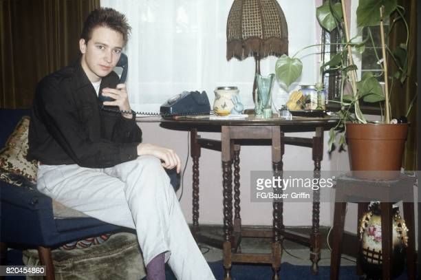 Alan Wilder of the pop group Depeche Mode poses for a portrait at his house on September 05 1982 in London England 170612F1