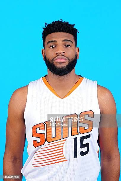 Alan Williams of the Phoenix Suns poses for a headshot during the 20162017 Phoenix Suns Media Day on September 26 at Talking Stick Resort Arena in...