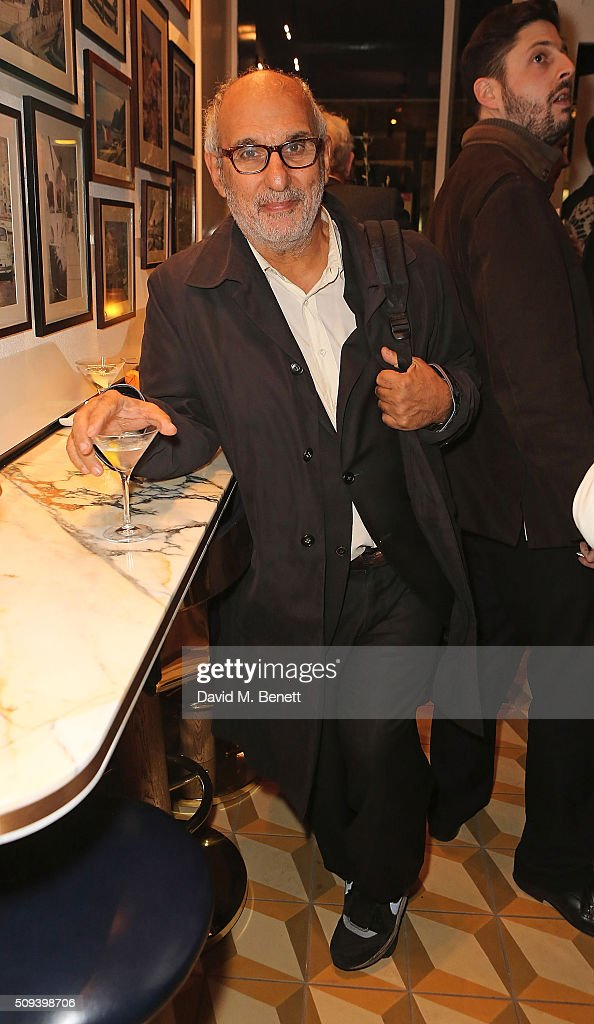 <a gi-track='captionPersonalityLinkClicked' href=/galleries/search?phrase=Alan+Yentob&family=editorial&specificpeople=581634 ng-click='$event.stopPropagation()'>Alan Yentob</a> attends the launch of Italian restaurant and menswear boutique Chucs on Westbourne Grove on February 10, 2016 in London, England.