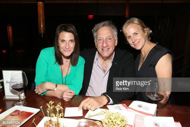 Alan Zweibel and guests attend the OffBroadway opening night party for 'SUMMER SHORTS 2017' at Fogo de Chao Churrascaria on August 7 2017 in New York...
