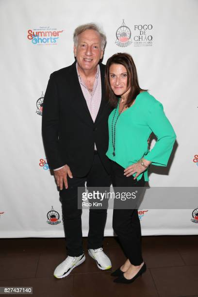 Alan Zweibel attends the OffBroadway opening night party for 'SUMMER SHORTS 2017' at Fogo de Chao Churrascaria on August 7 2017 in New York City