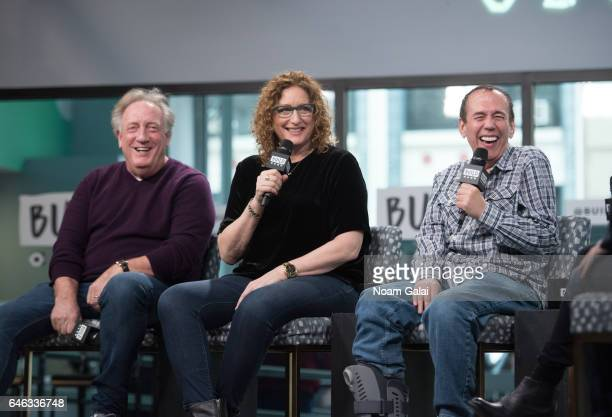 Alan Zweibel Judy Gold and Gilbert Gottfried visit Build Series to discuss 'The Last Laugh' at Build Studio on February 28 2017 in New York City